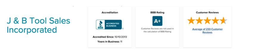 JB Tools Reviews BBB Reviews