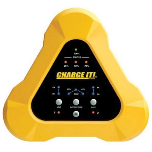 Clore Automotive 4506 6/12 volt Charge It Smart Battery Charger