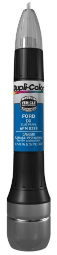 Duplicolor AFM0398 Blue Pearl Ford Exact-Match Scratch Fix All-in-1 Touch-Up Paint - 0.5 oz.